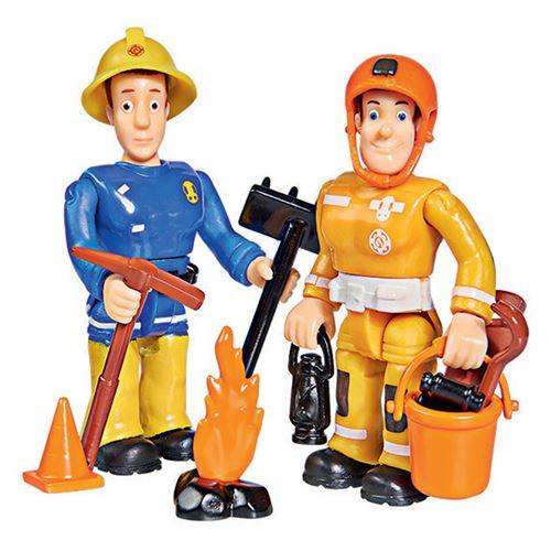 Figures de pompier Sam Toy - Sam et Arnold