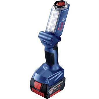 Bosch Professional 06014a1100 Lampe Sans Fil 18 V Bleu Packs