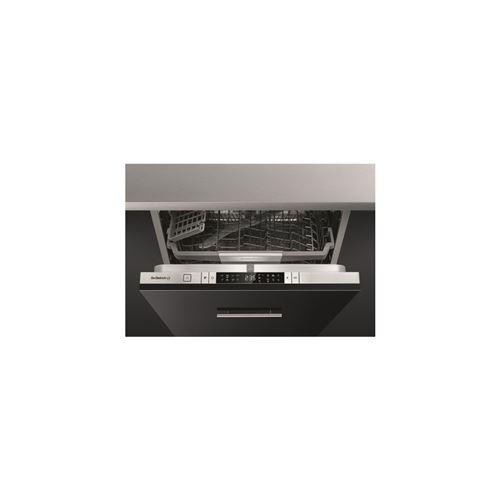 De Dietrich DV91442J - Lave-vaisselle - intégrable - Niche - largeur : 60 cm - profondeur : 58 cm - hauteur : 82 cm - inox/noir