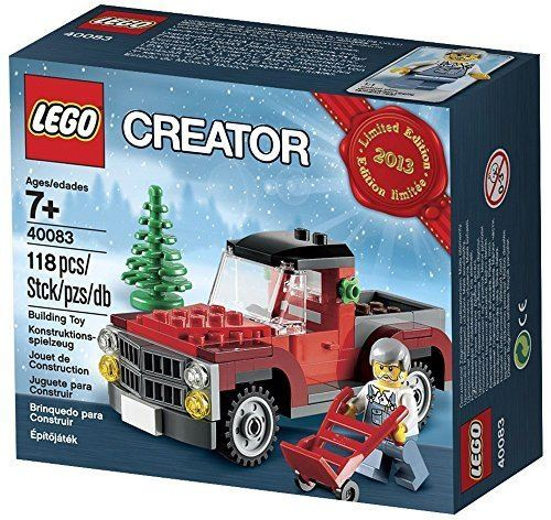 Lego Creator Tree Truck 2013 Édition limitée Holiday Set 40083