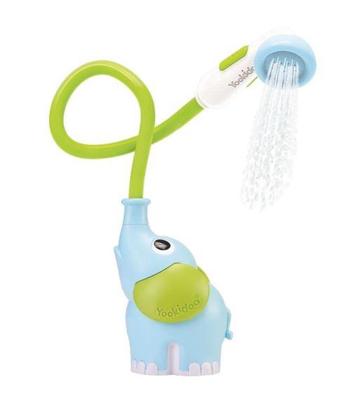 Yookidoo gicleur d'eau éléphant 39 cm vert/bleu