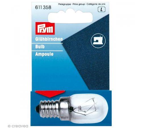 Ampoule à vis E14 15W pour machine à coudre