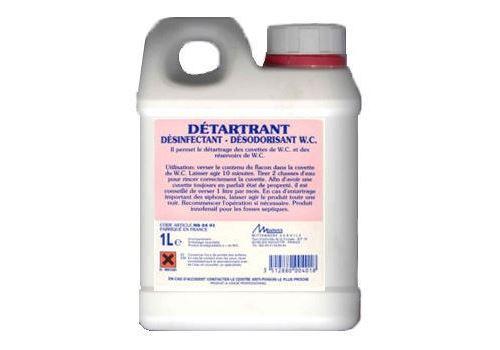 Détartrant désinfectant WC - Le bidon 1 litre