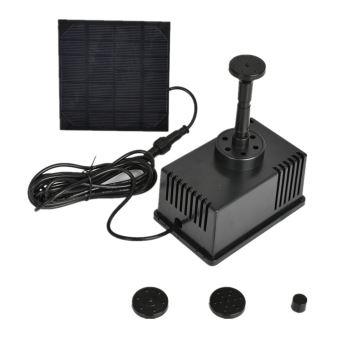 -50% sur Fontaine solaire Pompe Kit autoportant 1.5W Panneau solaire Pompe à eau pour le jardin ...