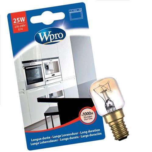 Ampoule T25 / E14 / 25W Four, cuisinière 484000008842 WHIRLPOOL, IGNIS, BAUKNECHT, LADEN, IKEA, PRIVILEG - 60260