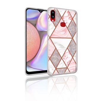 Coque en TPU motif marbre IMD style B pour votre Samsung Galaxy A10s