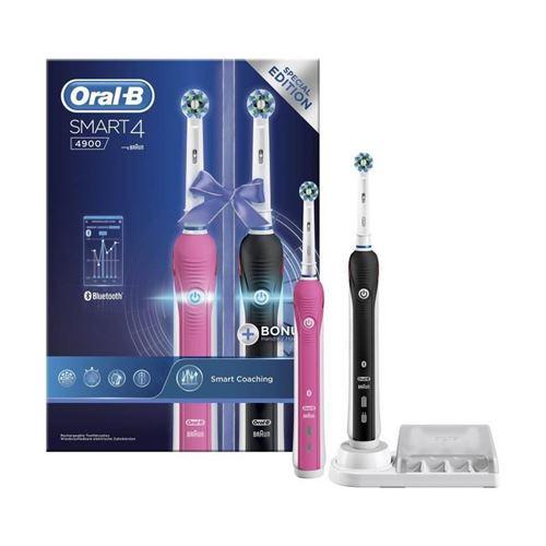 Oral-b Smart 4 4900 Cross Action Brosse A Dents Electrique