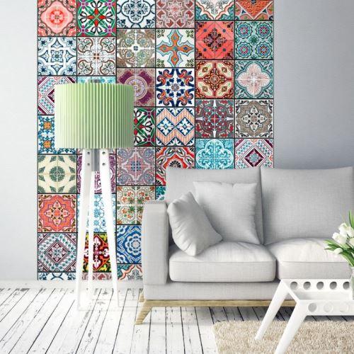Papier peint - Magic of Colours .Taille : 50x1000