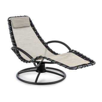 70 Sur Blumfeldt The Chiller Chaise Longue A Bascule Pour Exterieur