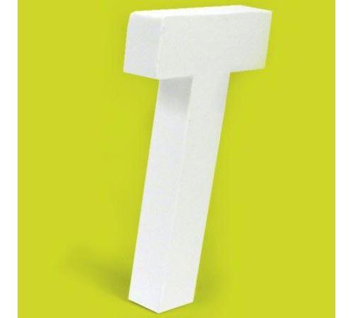 Lettre en carton T