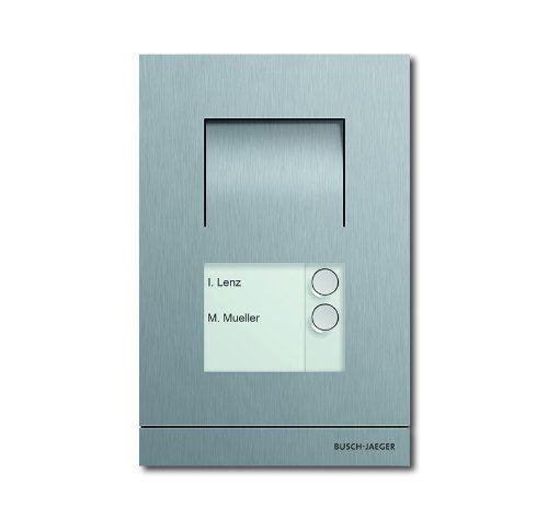 Busch-Jäger 83101/2–660 Interphone extérieur audio 2 F