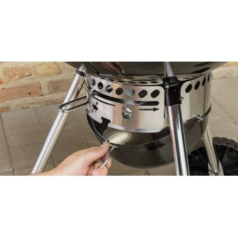 Pack Barbecue Weber Master Touch Gbs Noir Kit Cheminee Cuisiner