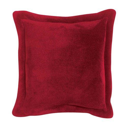 Coussin Tender rubis 50 x 50 cm Vivaraise
