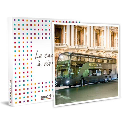 SMARTBOX - Menu déjeuner en 4 étapes à Paris pour 2 personnes à bord d'un bus haut de gamme - Coffret Cadeau