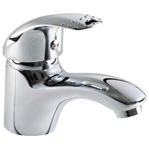 Mitigeur de lavabo robinet design chrome Aerateur Economie d eau