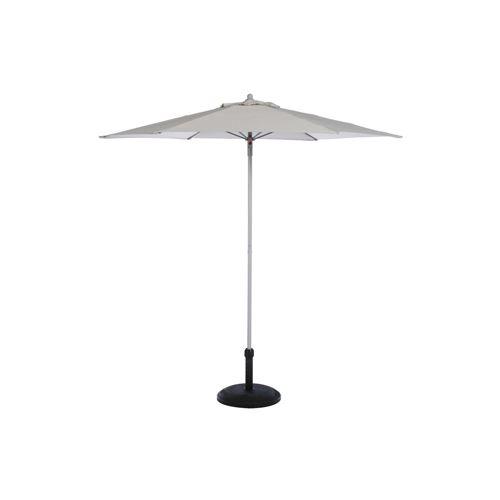 Parasol droit rond Anzio - Diam. 230 cm - Taupe