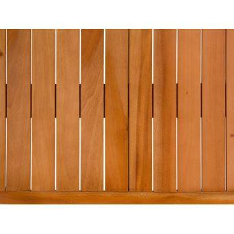 Beliani - Table de jardin en bois acajou 180 x 90 cm Grosseto ...