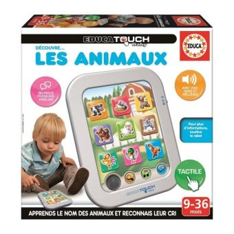 EDUCA TOUCH BABY DECOUVRE LES ANIMAUX