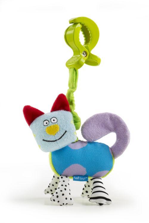 Jouet hochet Drôle de chat Taf Toys