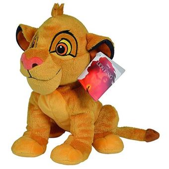 disney roi lion peluche