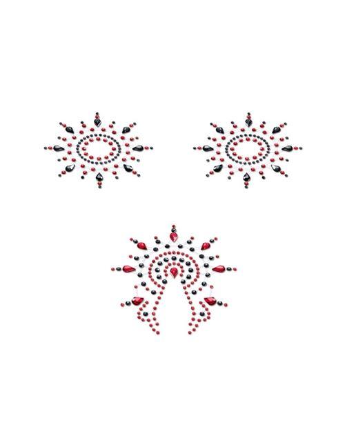 Ensembre gloria noir & rouge petits joujoux 46654