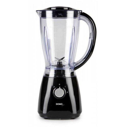 Domo DO-441BL Blender/Pileur à Glace Noir 1,5 L
