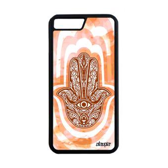 coque iphone 8 plus apple orange