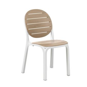 11EUR41 Sur Chaise Jardin Moderne Et Empilable Erica Nardi