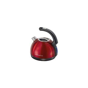 Lagrange Hemisphere - bouilloire - rouge inox