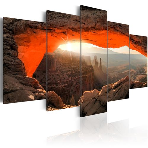 Tableau - Mesa Arch, Canyonlands National Park, USA - Artgeist - 100x50