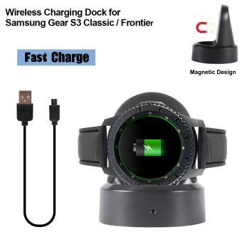 Chargeur pour Samsung Gear Sport, Socle de Chargement de