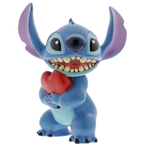 Statuette de collection Stitch cœur