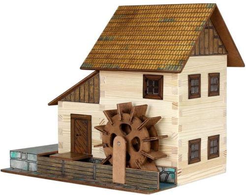 Walachia Maquette 8594036430167 No 16 Moulin à Eau Woodcraft kit de Construction en Bois Modèle Circuit de Train 1/Lgb