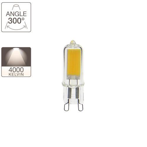 Ampoule LED capsule - cuLot G9 - classique