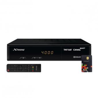 Récepteur satellite Strong SRT 7404 TNT HD Noir