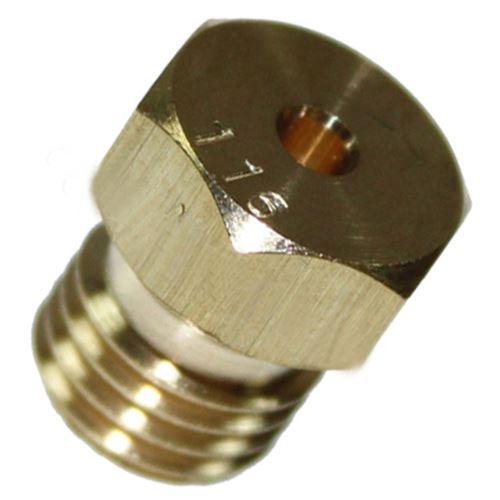 Injecteur butane propane diam. 116 (a l'unite) Four, cuisinière C00052940 ARISTON HOTPOINT, INDESIT, SCHOLTES, CANNON, WHIRLPOOL, CREDA, 2I MARCHI - 296746