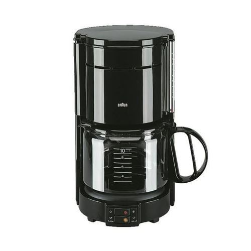 BRAUN KF47/1 Cafetiere filtre Aromaster Classic - Noir