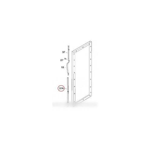 Listeau poignee blanc inferieure pour refrigerateur electrolux - 215867053