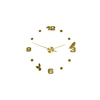 Horloge Murale Numeros Et Oiseaux Achat Prix Fnac