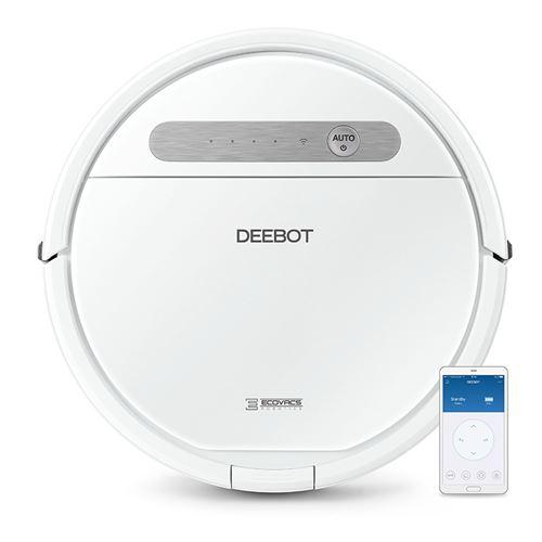 Aspirateur robot Ecovacs Deebot OZMO 610 Blanc
