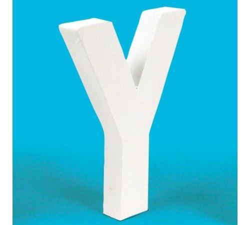 Lettre en carton Y