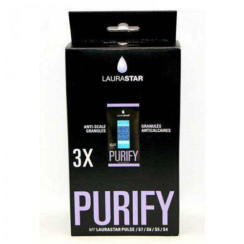 Aqua refill lot de 3 recharges filtres pour centrale vapeur laurastar - 997739