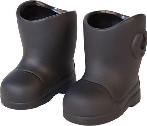 Bayer bottes noires pour poupées