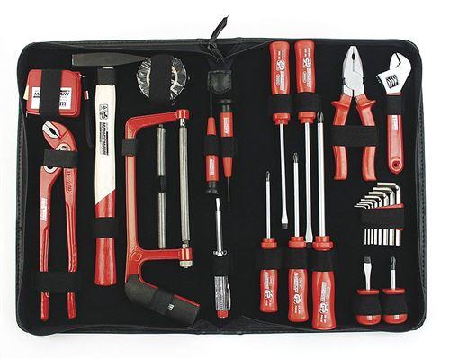 Mannesmann M29055 Sacoche à outils de bricolage 24 pièces