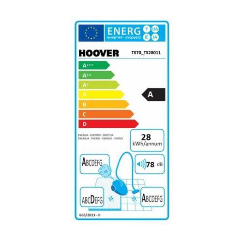 Hoover Ts70 _ tS28 – Aspirateur (700 W, A, 28 kWh