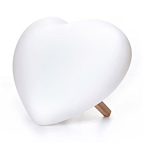 Lampe à poser coeur