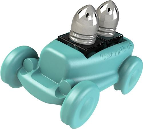 Standard Gum Easy - Salière poivrière voiture design Bleu