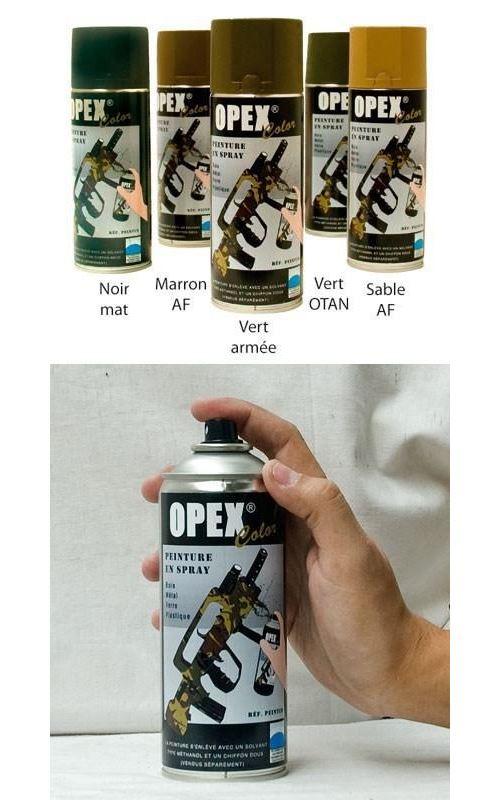 Peinture Opexcolor en spray 400ml