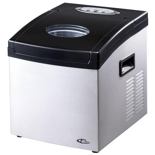 TecTake Machine à glaçons 24 par cycle