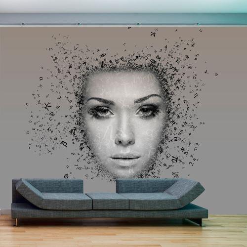 Papier peint - Afflux de pensées - Décoration, image, art -